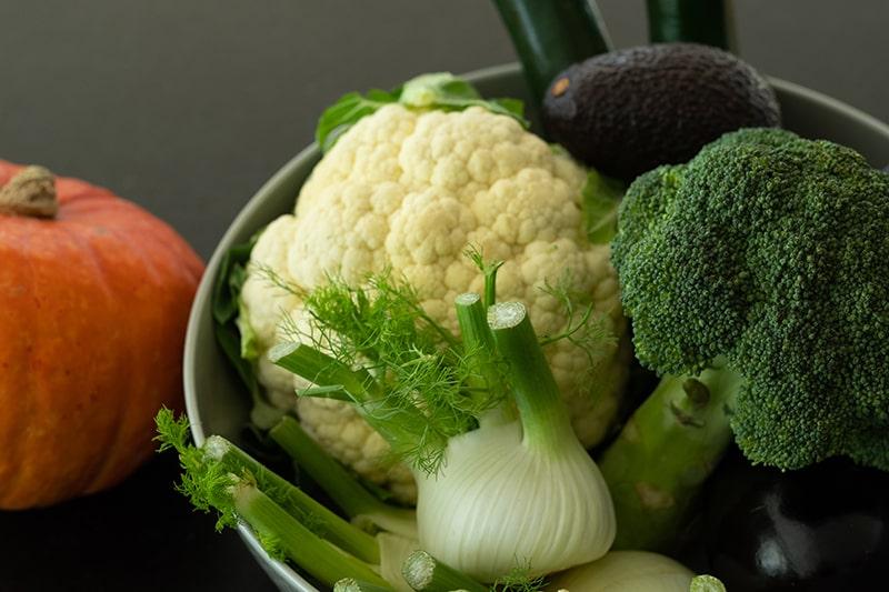 Gesunde Ernährung - Brokkoli, Fenchl, Avocado