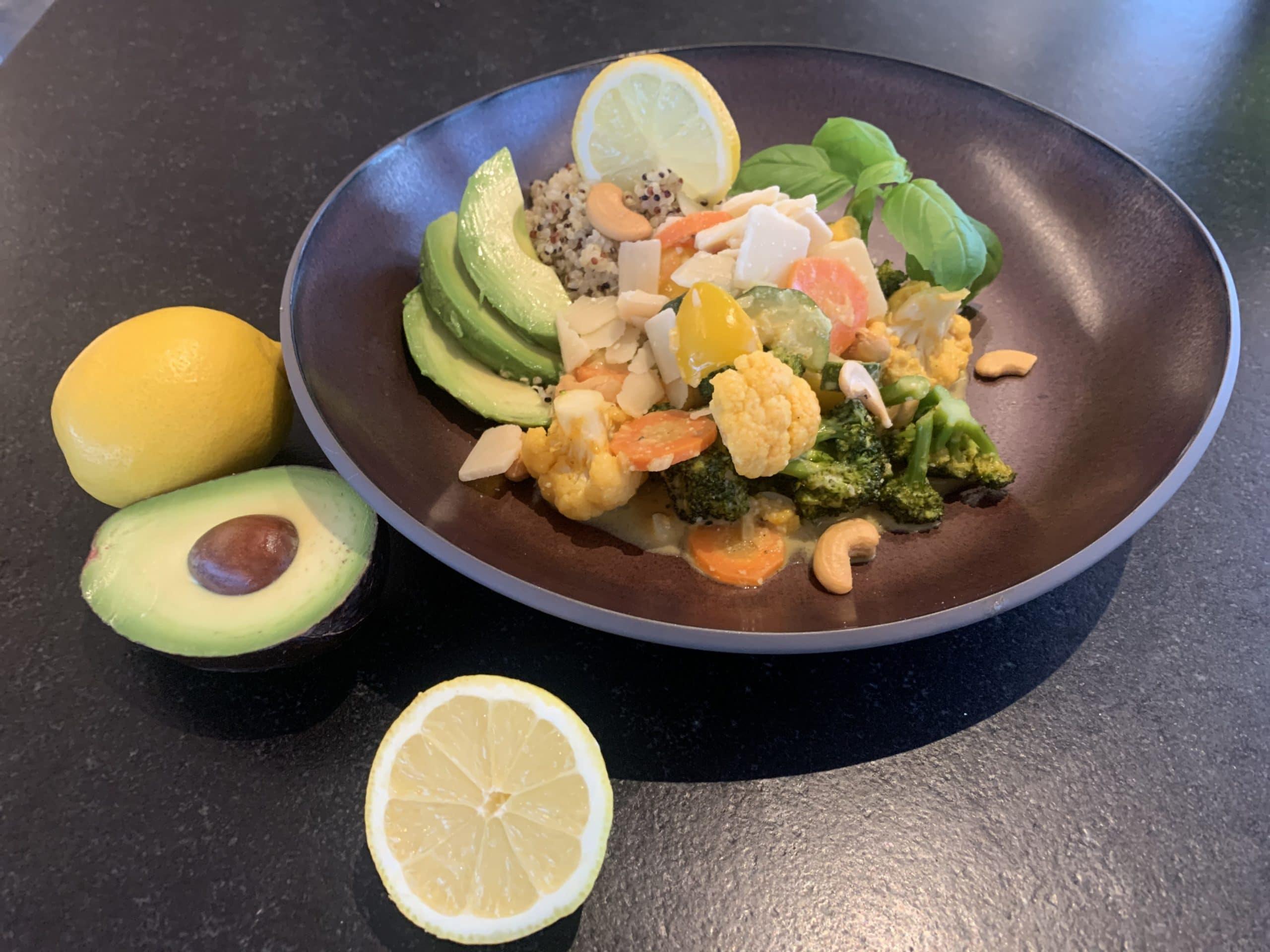 Veggie Curry mit Quinoa